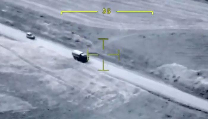 Ataque con un dron TB2 deja herido al ministro de Defensa de Nagorno Karabaj. Vídeo del ataque