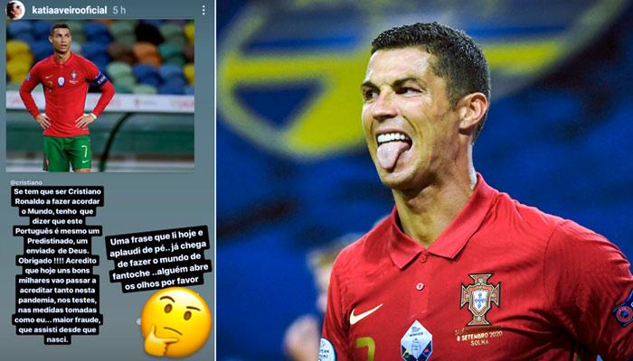 Katia Aveiro, tras el positivo de su hermano Cristiano Ronaldo: ''El mayor fraude que he visto''
