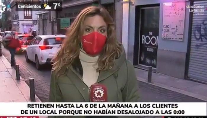 Retienen hasta las 6 de la mañana a los clientes de un local de Madrid porque no habían desalojado a las 0:00
