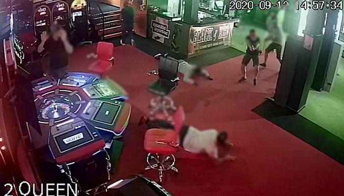 Detención de una banda durante un atraco en un mini casino de Tenerife