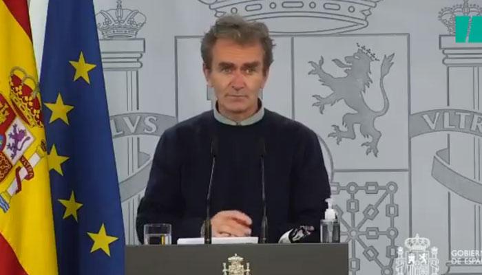 Fernando Simón pide disculpas por el 'chiste' del jueves pasado