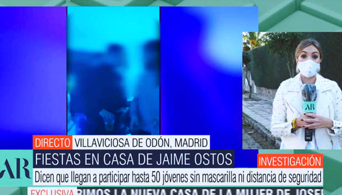 Jacobo Ostos, acusado de hacer fiestas ilegales en el sótano del chalet de sus padres: 1.000 euros por mesa de 6 personas