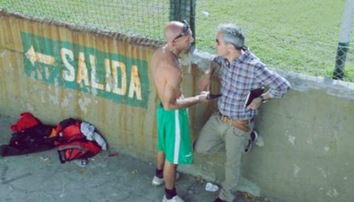 """Jon Sistiaga entrevistó hace unos años a el """"Chiquitona"""", jefe de la Barra Brava del Excursionistas"""