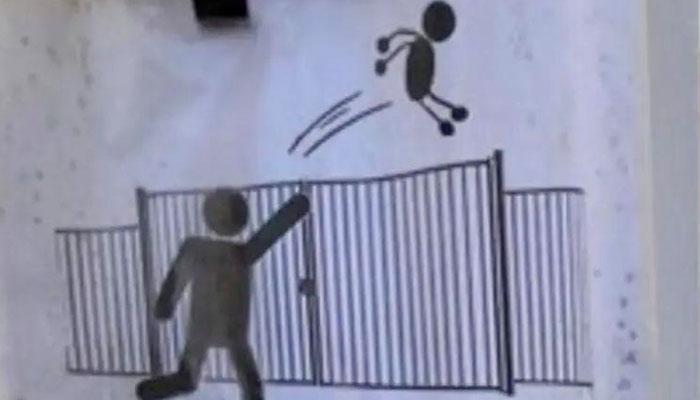 Un colegio francés pide a los padres de los alumnos que no los lancen por la verja cuando lleguen tarde