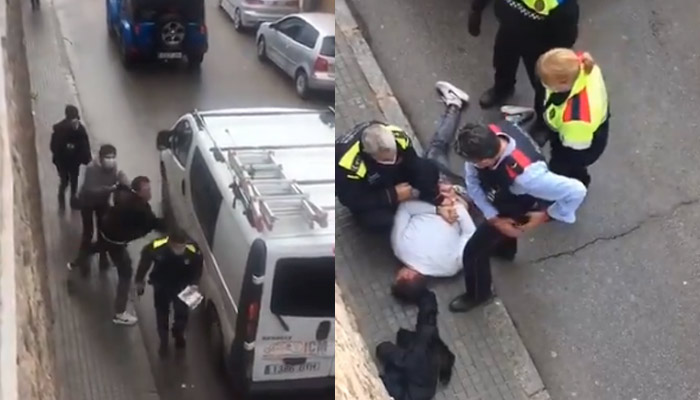 Un individuo agrede a un policía local que lo detuvo por ir conduciendo de forma temeraria delante de un colegio