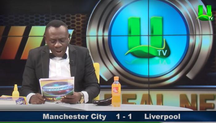 El vídeo viral del presentador africano que da los resultados de fútbol en una televisión de Ghana