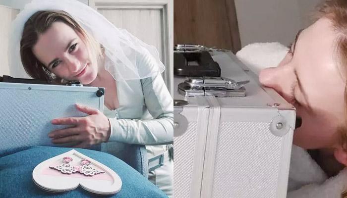 Una profesora de guardería que siente atracción por objetos inanimados se casa con un maletín al que llama Gideon