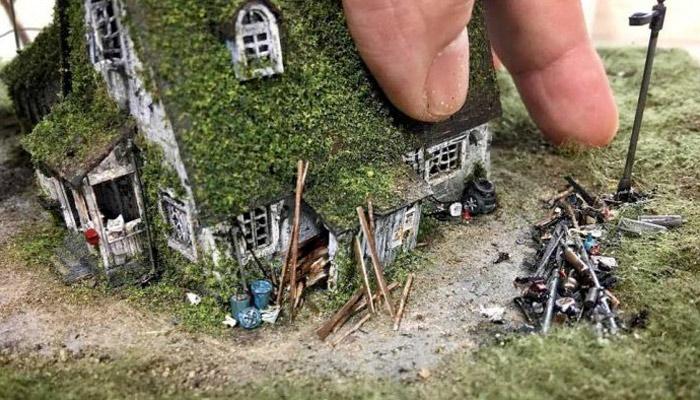 Hank Cheng y su ciudad en miniatura