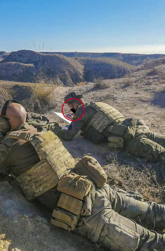 La última tecnología del Ejército: Paint para mascarillas