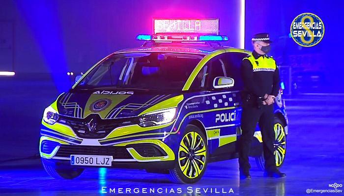 ''He visto presentaciones de escuderías de F1 menos curradas'': La Policía Local de Sevilla presenta sus nuevos vehículos