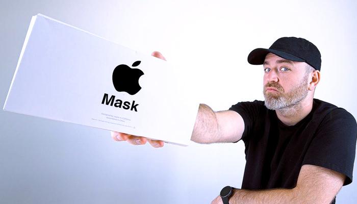 Así son las mascarillas de Apple. Solo para sus trabajadores