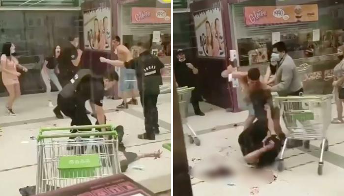 Ataque con cuchillo en un supermercado de Chile: Un joven de 16 años hiere a dos guardias de seguridad