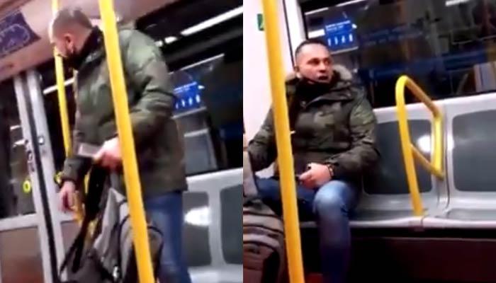 Ataque racista en el Metro de Madrid: ''Si eres un hombre te desfiguro''