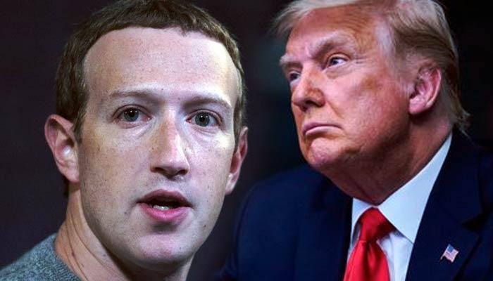 Mark Zuckerberg anuncia la suspensión de las cuentas en Facebook e Instagram de Donald Trump hasta que termine su mandato
