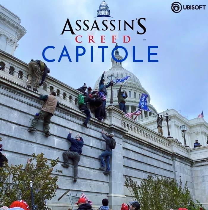 Los mejores memes sobre el asalto al Capitolio de los Estados Unidos