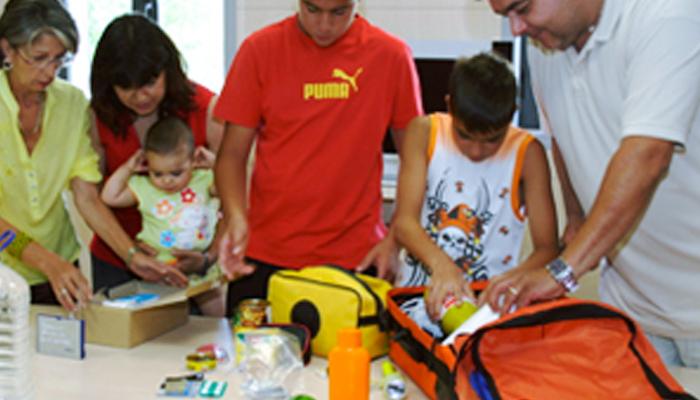Prepárate Madrid: Mi Mochila de emergencia en caso de evacuación de nuestro edificio
