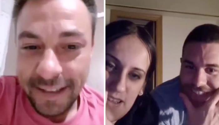 El negacionista que entró sin mascarilla a un centro de salud de Córdoba hablando por videollamada con otros dos negacionistas