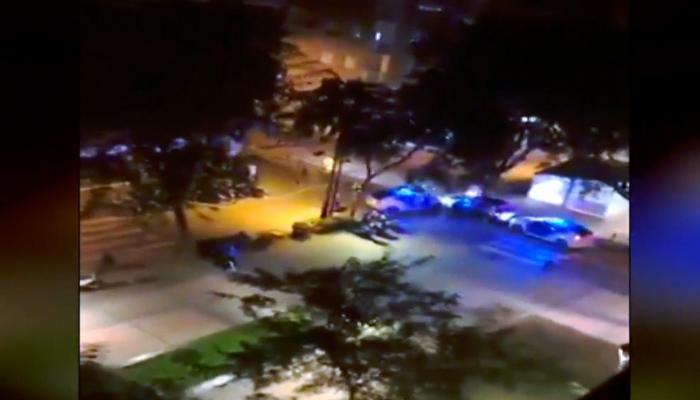 Persecución en Viladecans con disparos incluidos