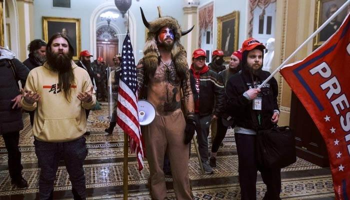 El Capitolio en Washington asaltado por seguidores de Trump en protesta por la elección de Joe Biden