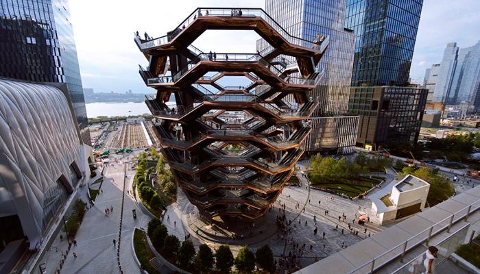 """La monumental escultura neoyorquina """"The Vessel"""" es cerrada tras el tercer suicidio en un año"""