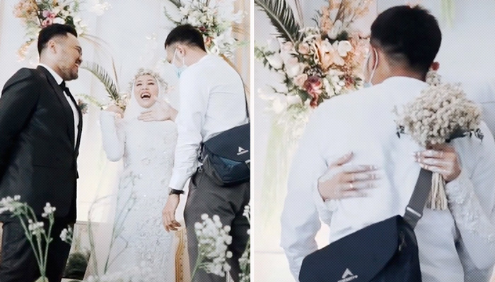 ''Una última vez'': Pide permiso a su esposo durante la boda para abrazar a su exnovio
