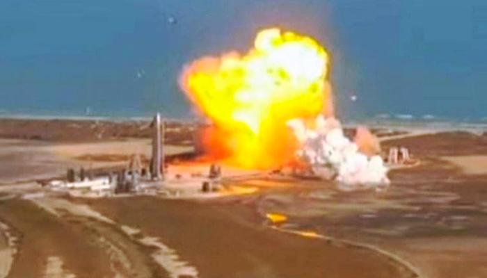 La Starship SN9 de SpaceX explota al aterrizar tras un lanzamiento