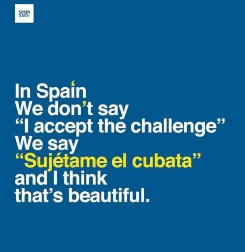 Spanish is beautiful