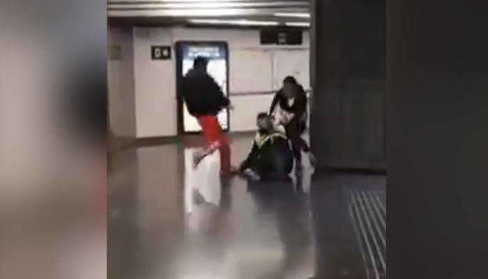 Dos hombres agreden a un vigilante de Renfe en la estación de Sagrera-Meridiana, Barcelona