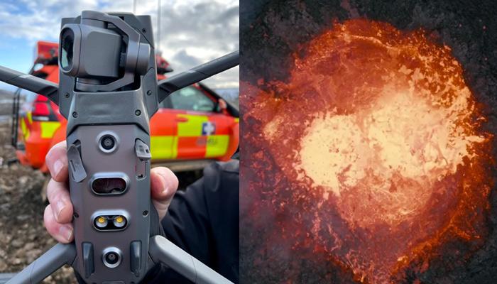 Esto es lo que ocurre cuando haces volar a un dron sobre un volcán