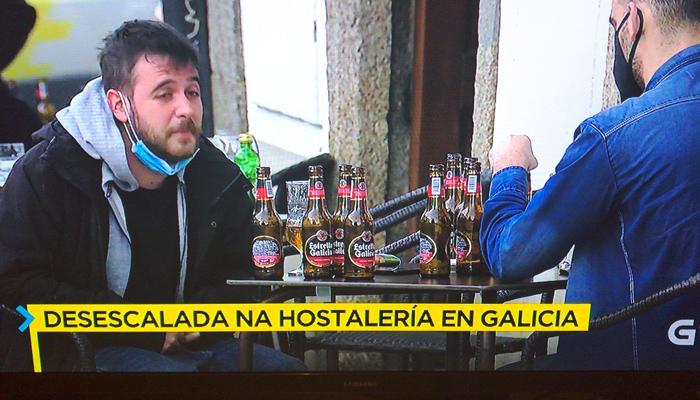 Había ganas: Desescalada en la hostelería en Galicia