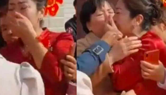 Suzhou (China): La novia de una boda descubre que su suegra es su madre