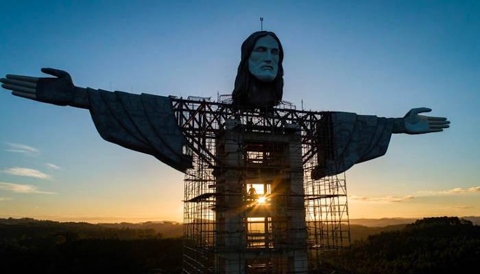 Brasil construye la tercera estatua de Jesús más alta del mundo