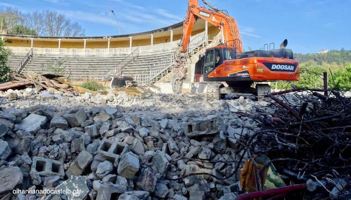 Un Ayuntamiento de Portugal derriba una plaza de toros tras la presión antitaurina de los vecinos