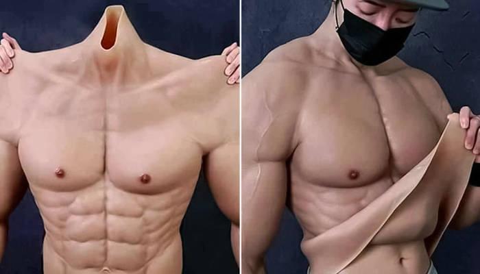 Cuerpo de gimnasio en segundos: crean un traje hiperrealista que te hará parecer musculoso