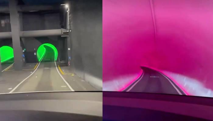 Kylie Jenner muestra uno de los últimos proyectos de Elon Musk: un túnel subterráneo en el centro de convenciones de Las Vegas