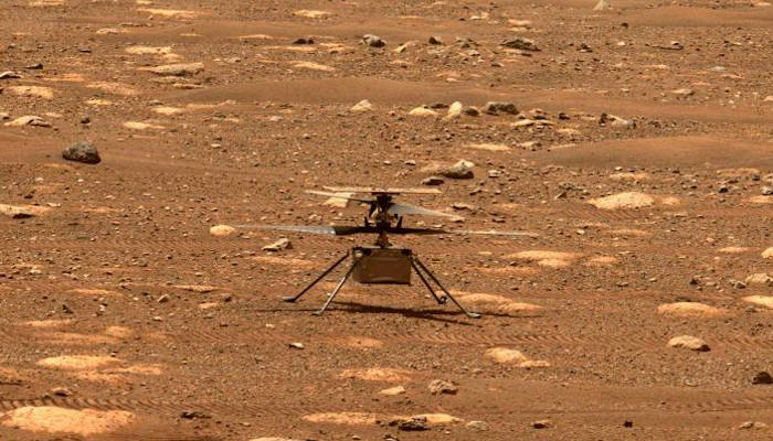 El Ingenuity de la NASA logra el primer vuelo de la historia en Marte
