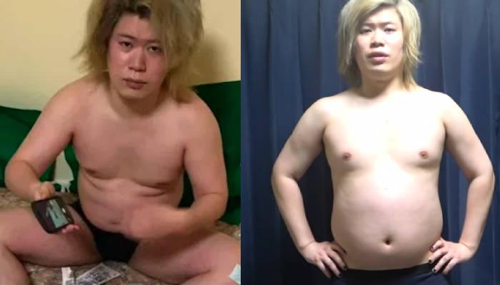 Un youtuber pierde 25 kilos y se pone en forma en un año siguiendo el duro entrenamiento de un personaje de anime