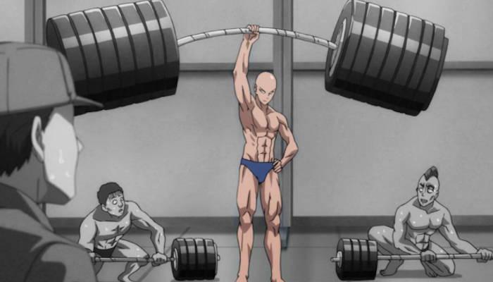 Saitama de One Punch-Man