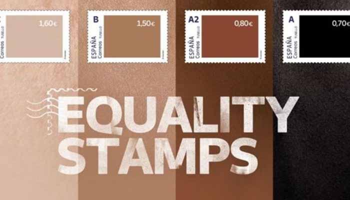 """Correos lanza una colección de sellos para defender la diversidad y las redes la tachan de """"racista"""""""