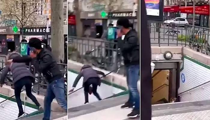Expulsado de Francia un español que arrojó a una mujer por las escaleras del metro en París