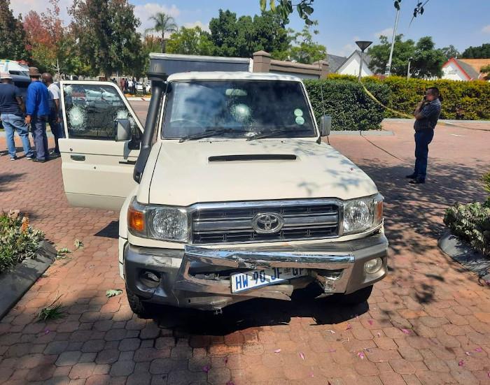Un día cualquiera en el interior de una furgoneta blindada en Sudáfrica
