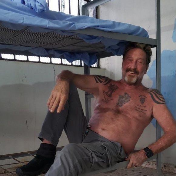 Encuentran muerto a John McAfee, el creador del antivirus, en su celda de una prisión de Barcelona después de que la AN ordenara su extradición