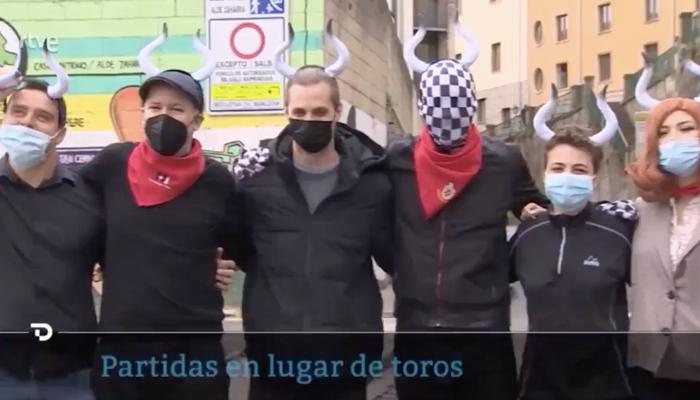 Partidas de ajedrez en lugar de toros en Pamplona