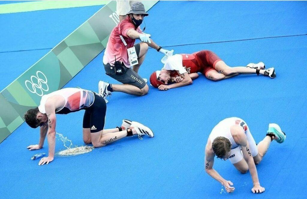 La de sábados noches que hemos acabado como unos atletas olímpicos y sin saberlo...