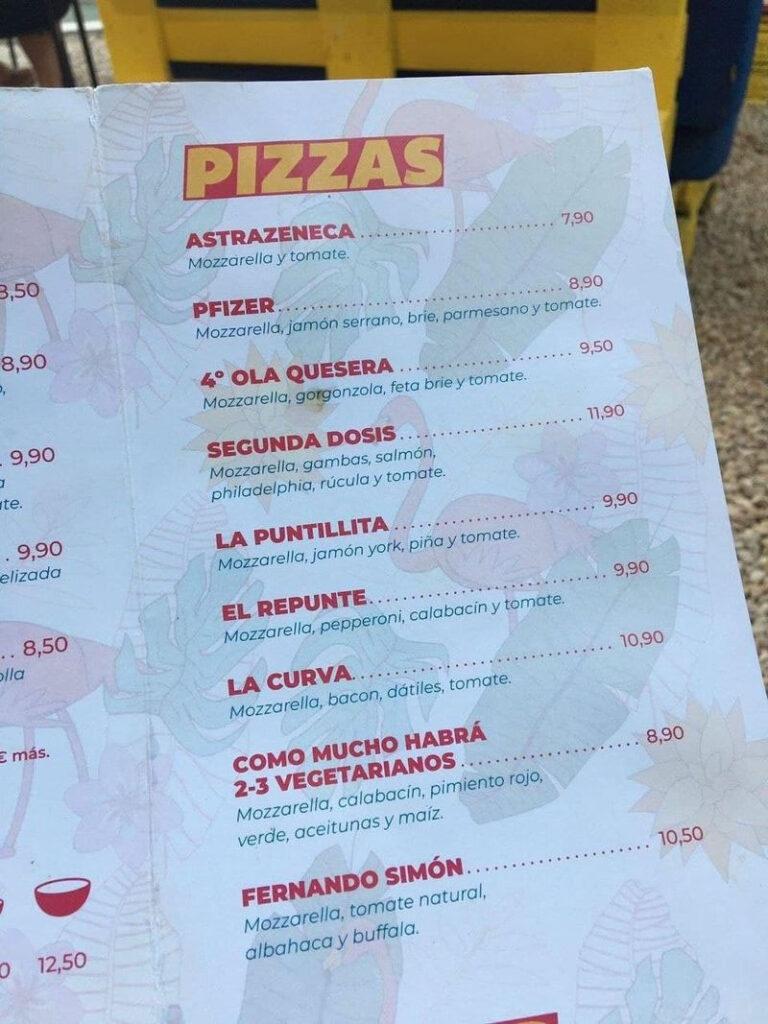 Esta pizzería ha adaptado su carta a los nuevos tiempos