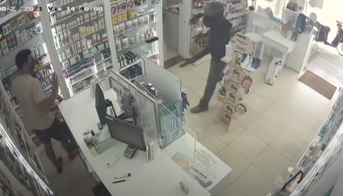 Barrio de Montbau, Barcelona: Ataque con cuchillo en una farmacia