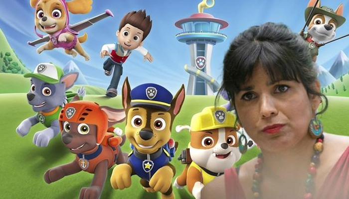 Teresa Rodríguez explota contra la Patrulla Canina