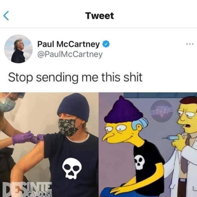 Paul McCartney está hasta las narices de los trolls