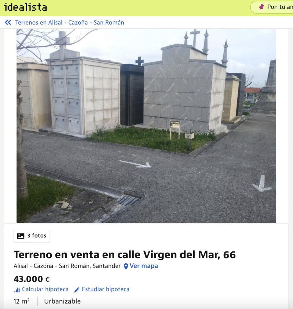 Se vende terreno en San Román, Santander. Buenas vistas