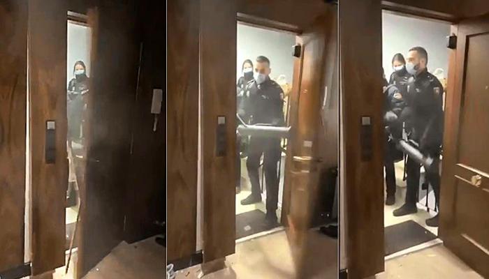 La 'patada en la puerta' en las fiestas del estado de alarma acaba con 18 policías imputados por allanamiento de morada